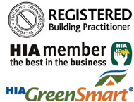 registered builder HIA member Green Smart